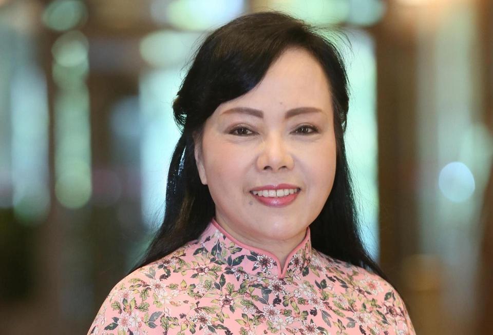 Ba Nguyen Thi Kim Tien roi ghe Bo truong Y te hinh anh