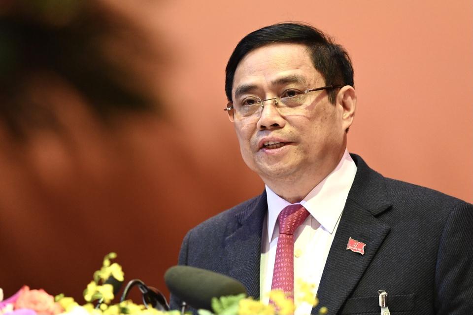 Thu tuong Pham Minh Chinh ung cu dai bieu Quoc hoi o Can Tho hinh anh