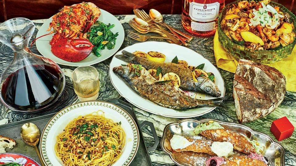 Festa dei sette pesci (Italy): Ở Italy, tùy mỗi vùng miền sẽ có những món ăn đặc trưng khác nhau cho mùa Giáng sinh. Tuy nhiên, festa dei sette pesci, hay