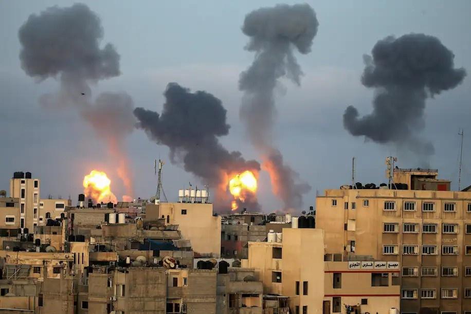 Nguoi dan Dai Gaza anh 1