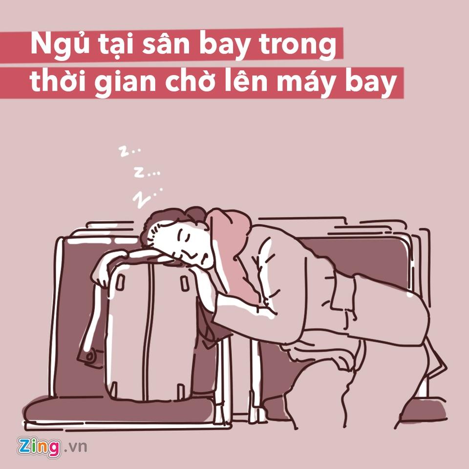 Dung lam 7 dieu sau neu khong muon gap rac roi o san bay hinh anh 1