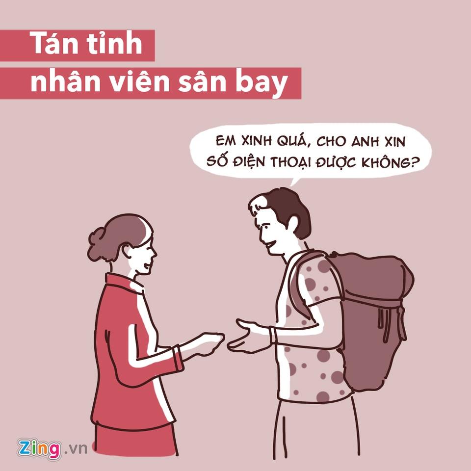 Dung lam 7 dieu sau neu khong muon gap rac roi o san bay hinh anh 6