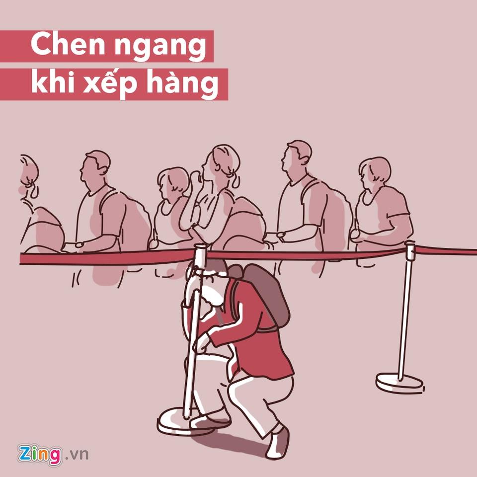 Dung lam 7 dieu sau neu khong muon gap rac roi o san bay hinh anh 7