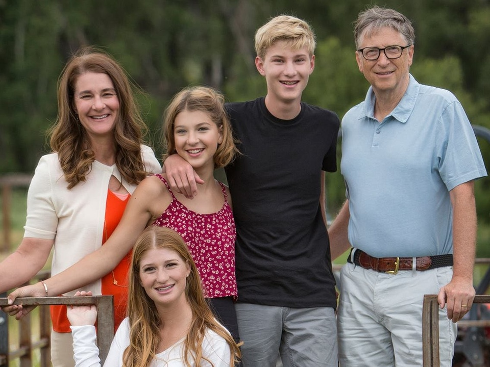 Bill va Melinda Gates ly hon anh 8