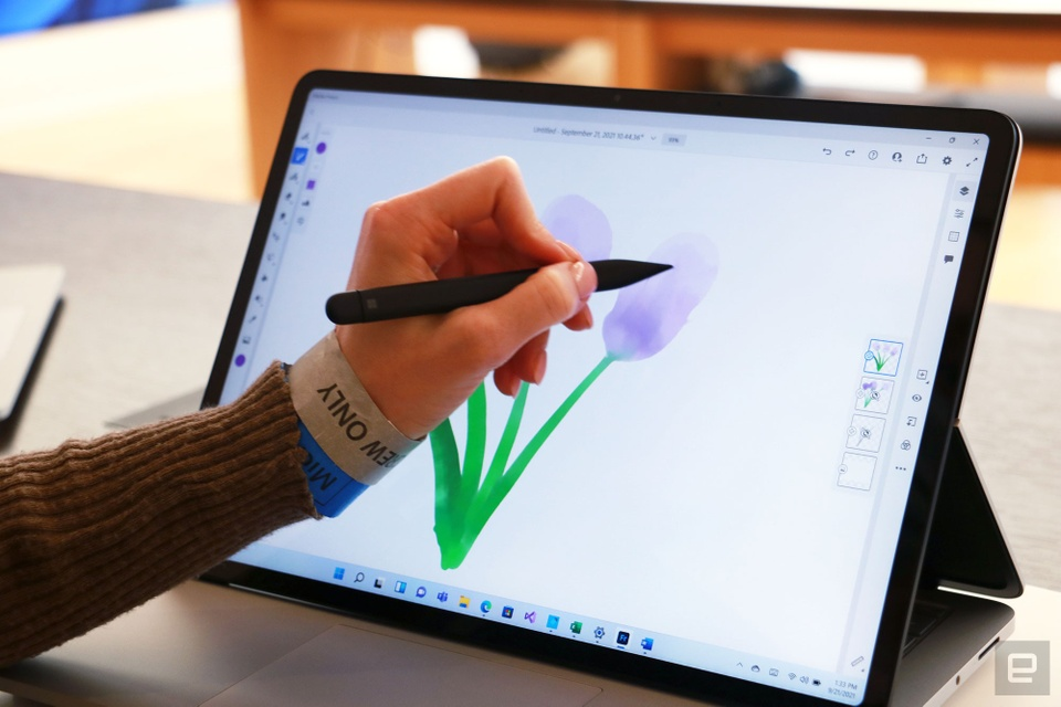 Microsoft ra mat Surface Laptop Studio va Surface Pro 8 anh 6