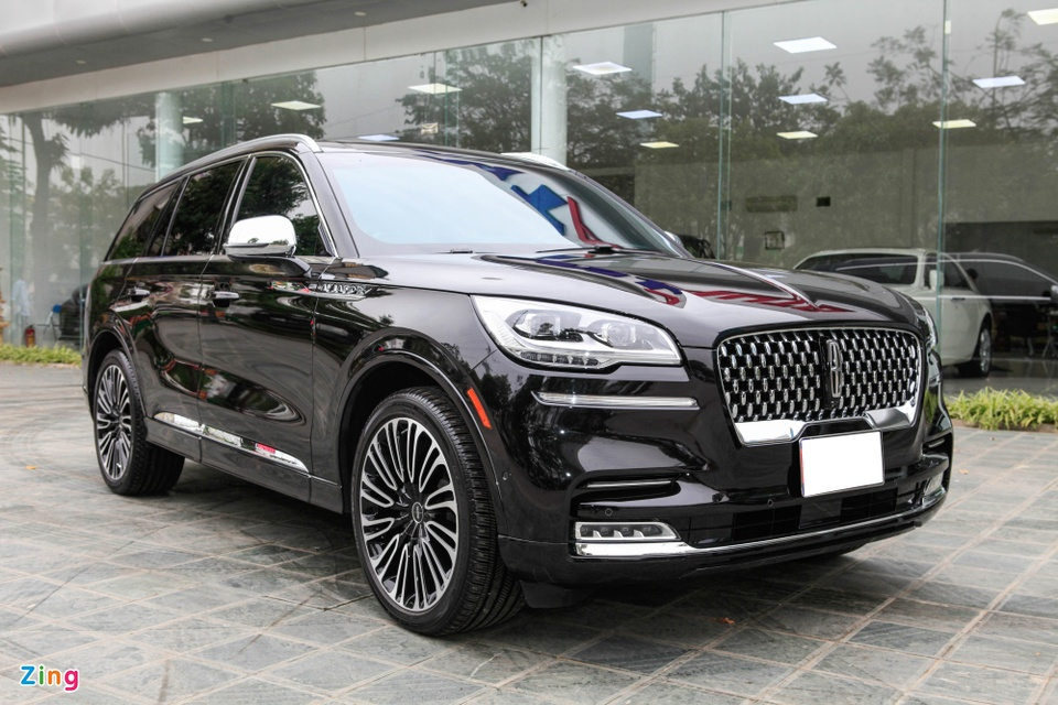 Chi tiet Lincoln Aviator Black Label - SUV 7 cho gia hon 6 ty dong anh 1
