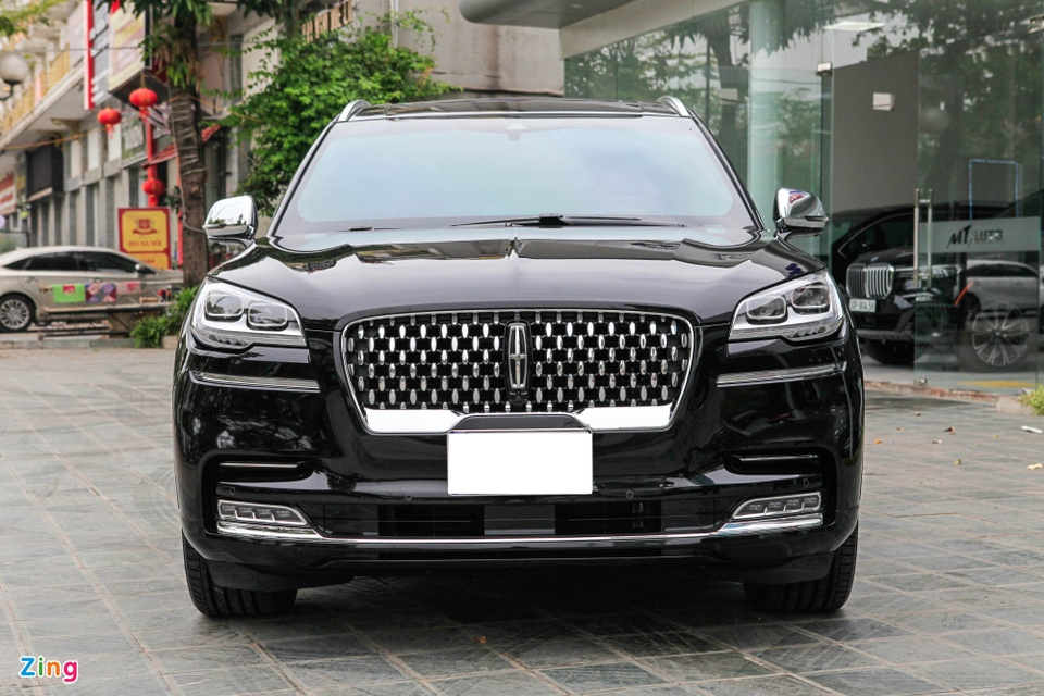 Chi tiet Lincoln Aviator Black Label - SUV 7 cho gia hon 6 ty dong anh 4