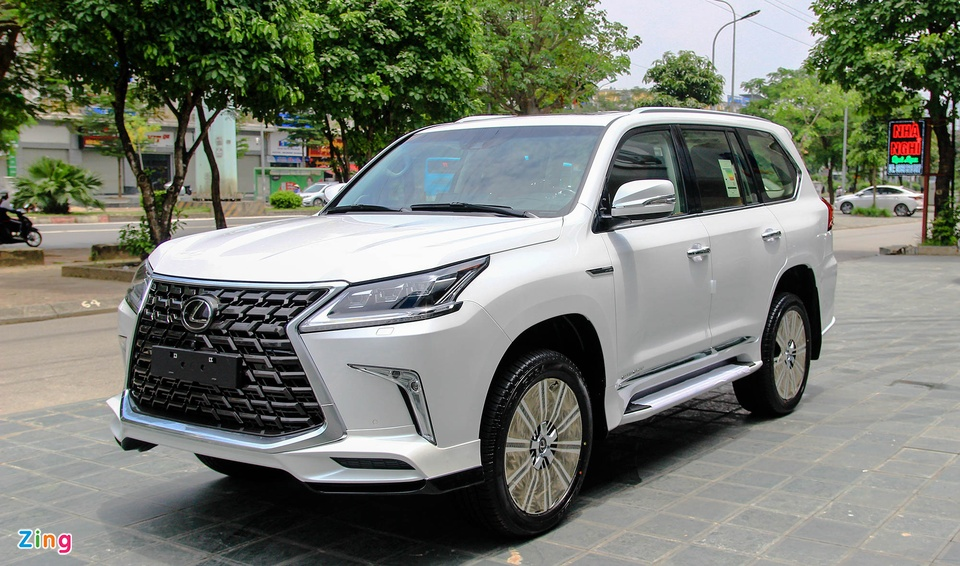 Lexus LX570 Supersport do MBS anh 1