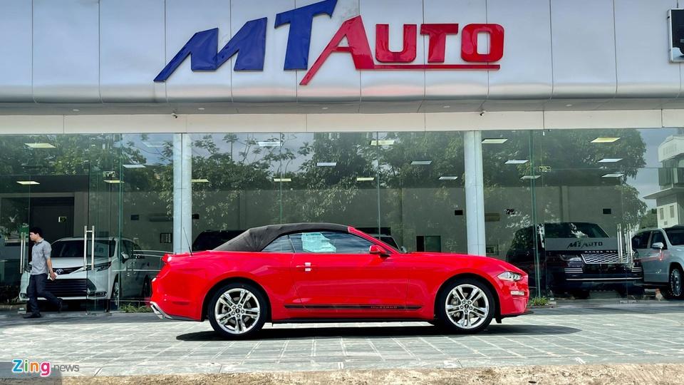Ford Mustang 2021 tai Viet Nam anh 3