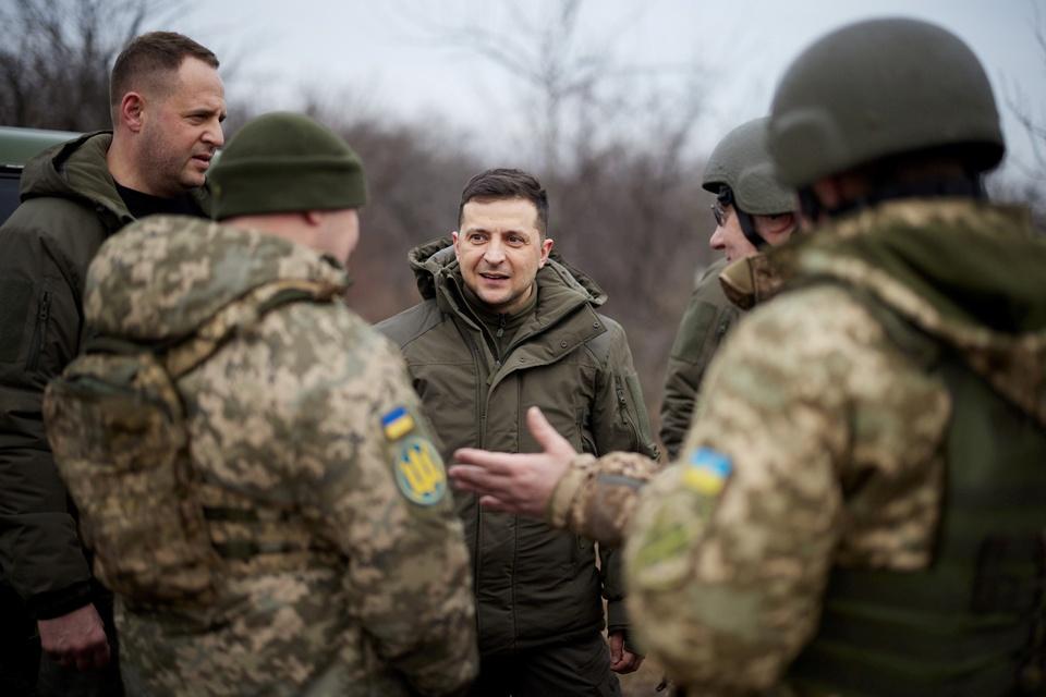 Cang thang Nga - Ukraine hinh anh