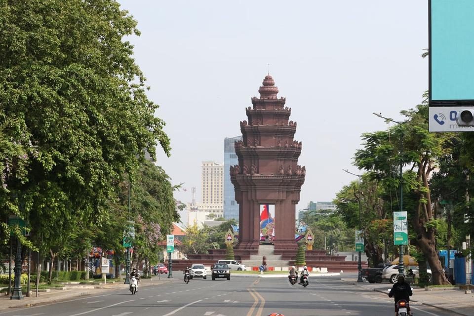 Campuchia phong toa thu do Phnom Penh anh 7