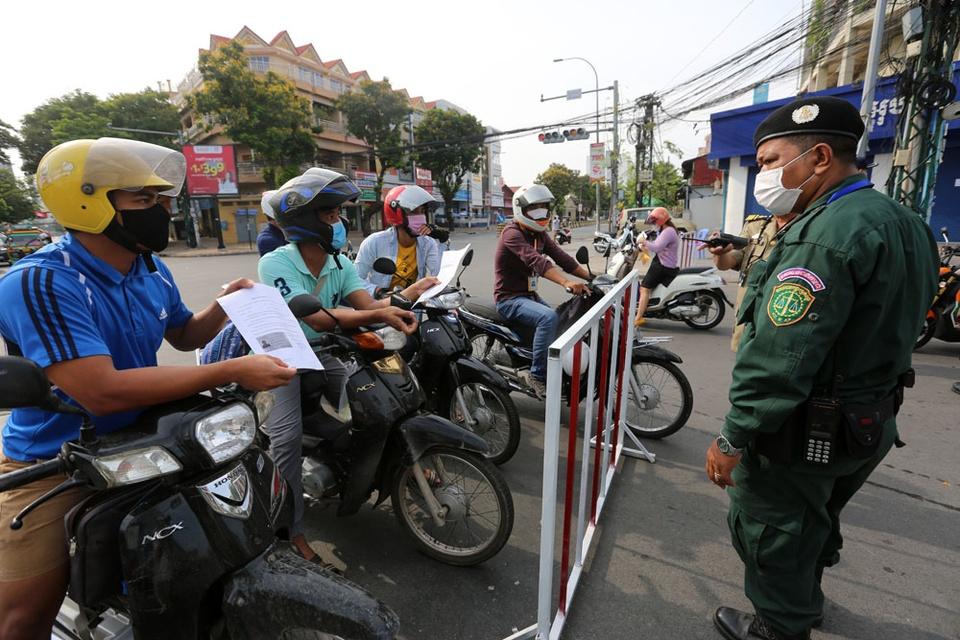 Campuchia phong toa thu do Phnom Penh anh 3