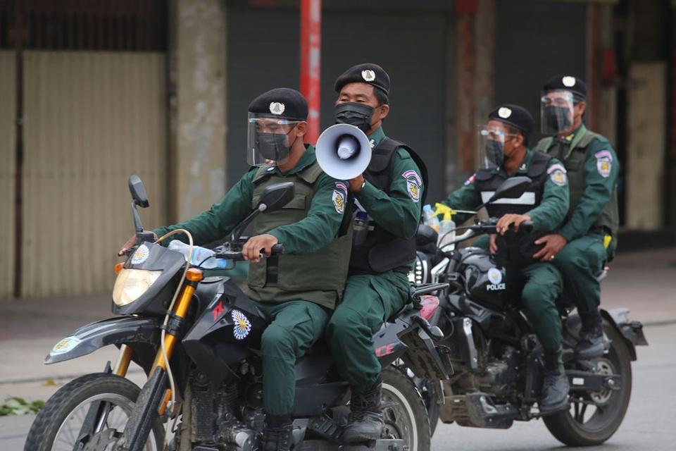 tinh hinh Covid-19 Campuchia anh 4