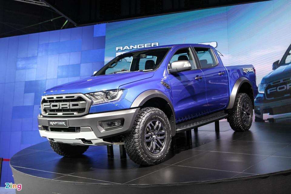 Can canh 'sieu ban tai' Ford Ranger Raptor 2018 hinh anh 2